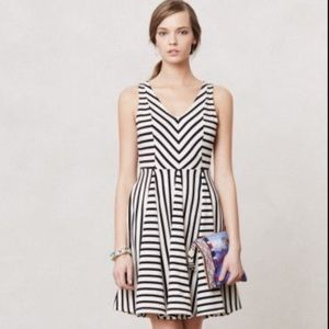 Anthropologie, Saturday Sunday, striped dress, M